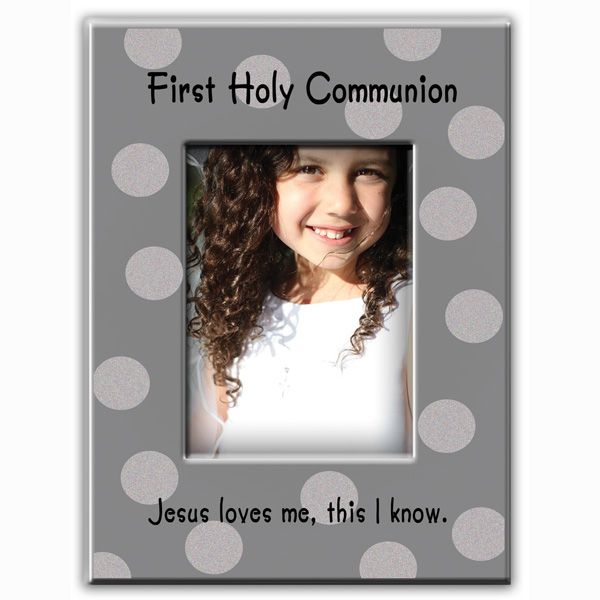 First Holy Communion Dot Frame