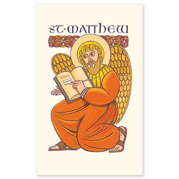 St Mark The Evangelist Symbol Holy Card