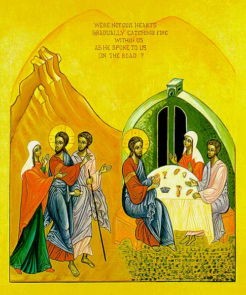 The Road from Emmaus to the Garden…