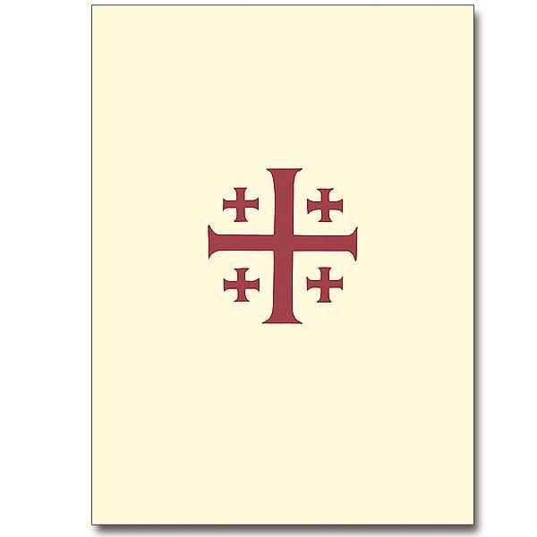 Jerusalem Cross Ordination Invitations