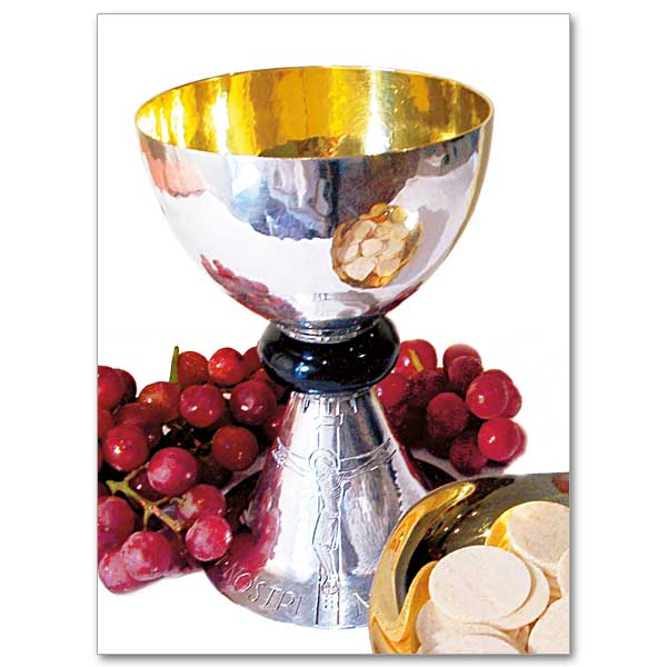 chalice  grapes and paten photo  priest ordination