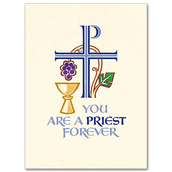 You are a Priest Forever: Priest Ordination Invitation Set