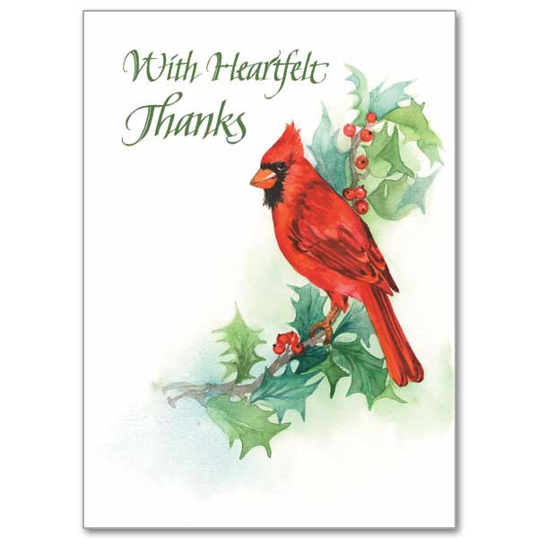 Song of the birds christmas thank you notes christmas thank you notes m4hsunfo
