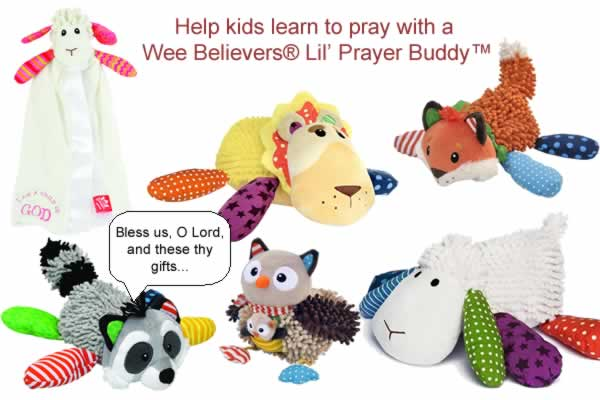 Wee Believers(R) Prayer Buddies