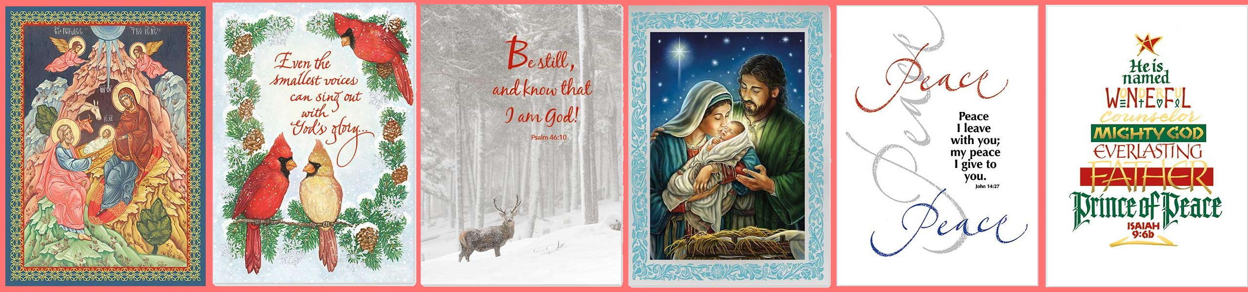 splendor of christmas cards - Christian Greeting Cards